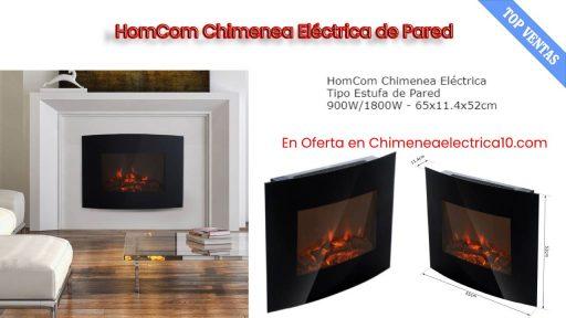 comprar Homcom chimenea electrica de pared