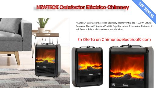 comprar Newteck calefactor electrico chimenea